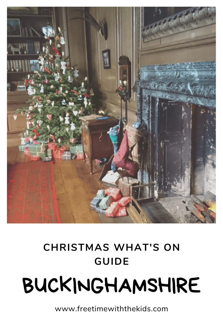 Christmas what's on guide | Christmas events Buckinghamshire | Free Time with the Kids