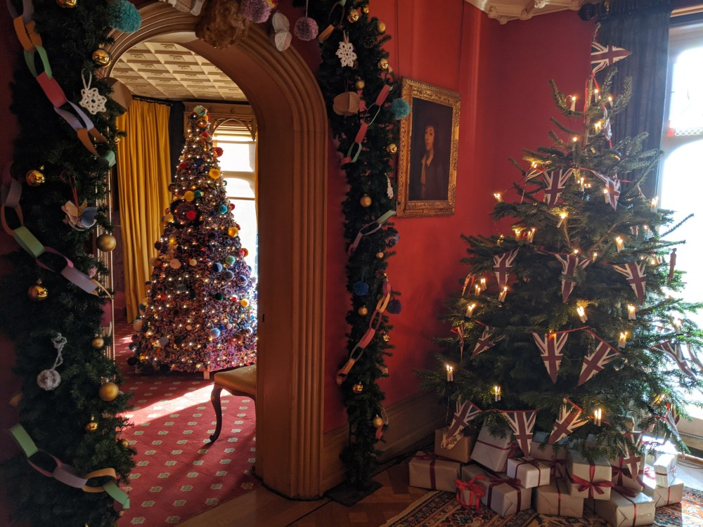 Christmas at Hughenden Manor | 2019 | Free Time with the Kids.