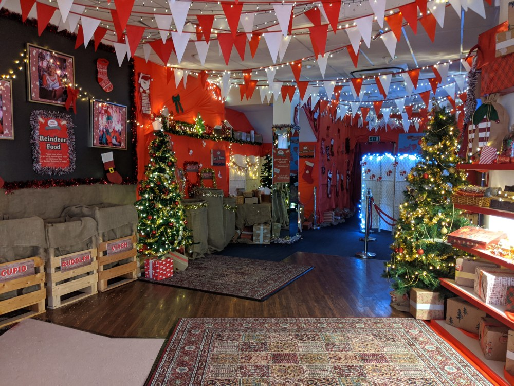 High Wycombe free Santa's Grotto | Free Time with the Kids