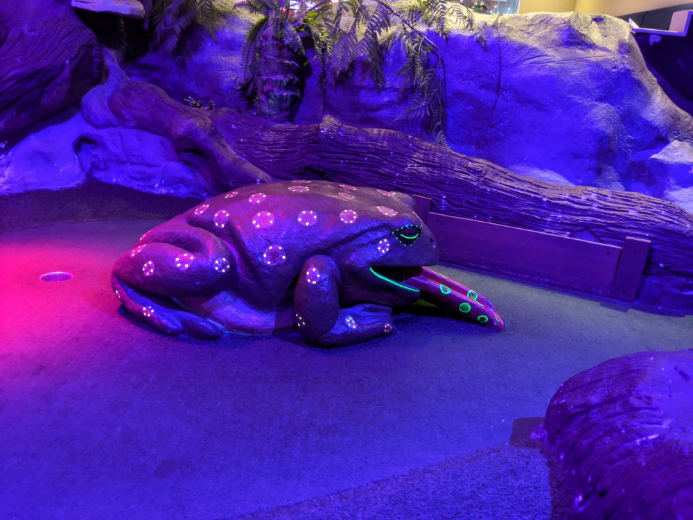 Mr Mulligan's Indoor crazy golf review, Milton Keynes | Free Time with the kids