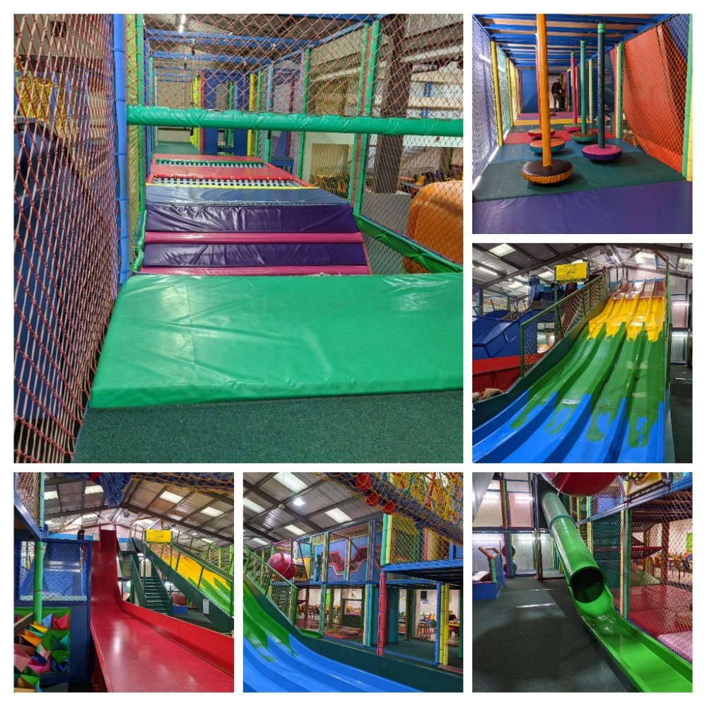 The soft play frame at Mead Open Farm | Family Days Out