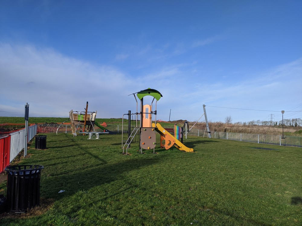 Roman park play area | Berryfields | Aylesbury | Free Time with the Kids