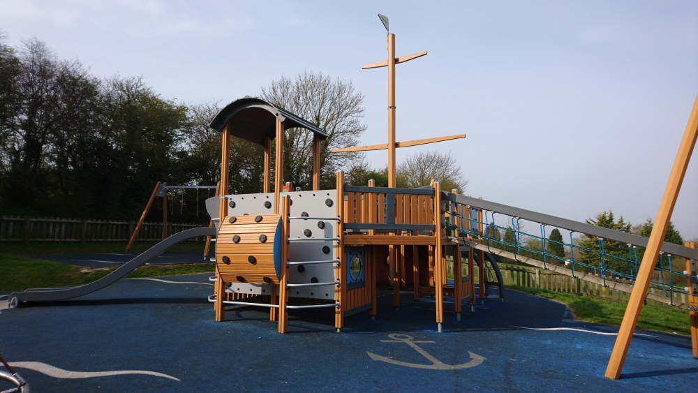 Pirate Park | Wendover Playground Review | Free Time with the Kids
