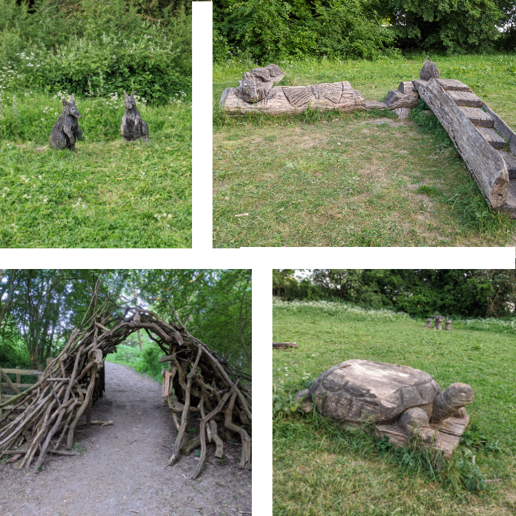 Natural Play area | Free Time with the Kids