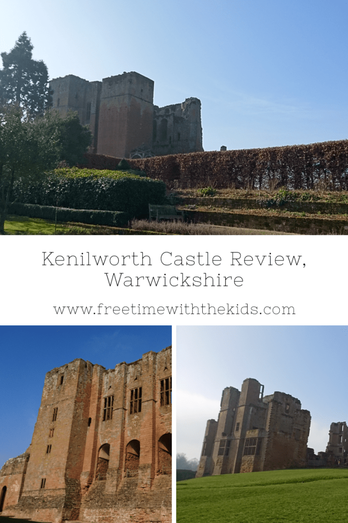 Kenilworth Castle Review | Warwickshire family days out | English HEritage | Review by Free Time with the Kids