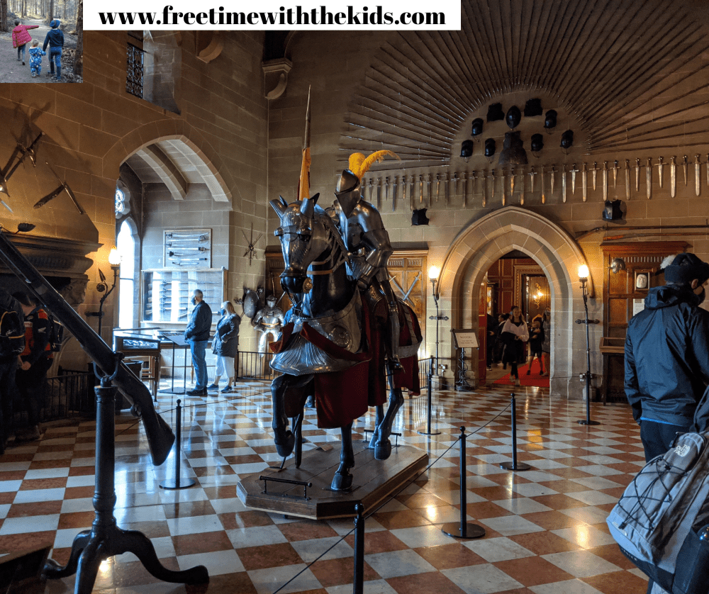Warwick Castle State Rooms review | Free Time with the Kids | Family days out in Warwickshire