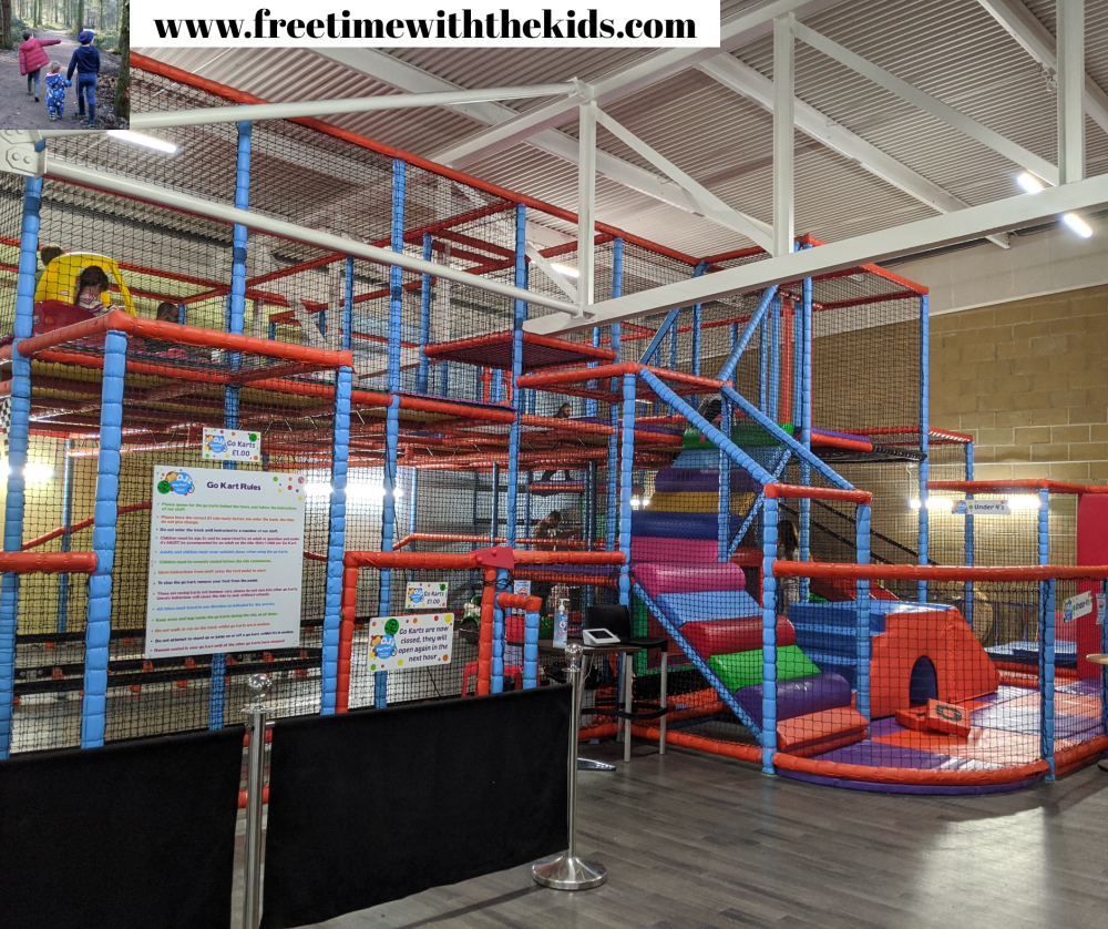 Under 4's baby area | DJ's Play Park | Soft play Hemel Hempstead, Hertfordshire | Review by Free Time with the Kids
