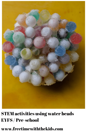 water beads activities for toddlers and under 5's | Things to do with the kids