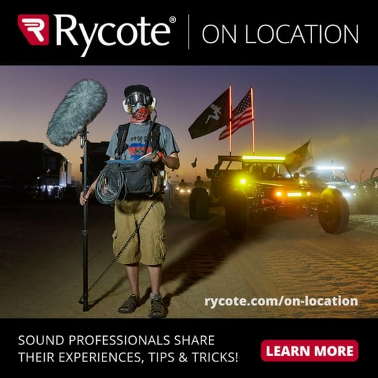 Rycote on Location