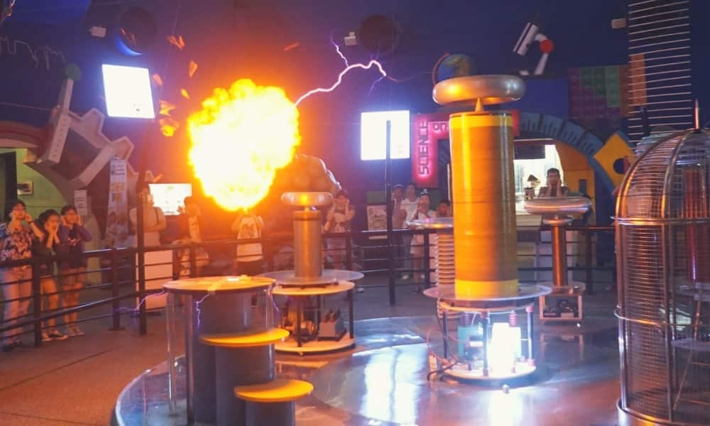 Tesla Coil Sound Effects