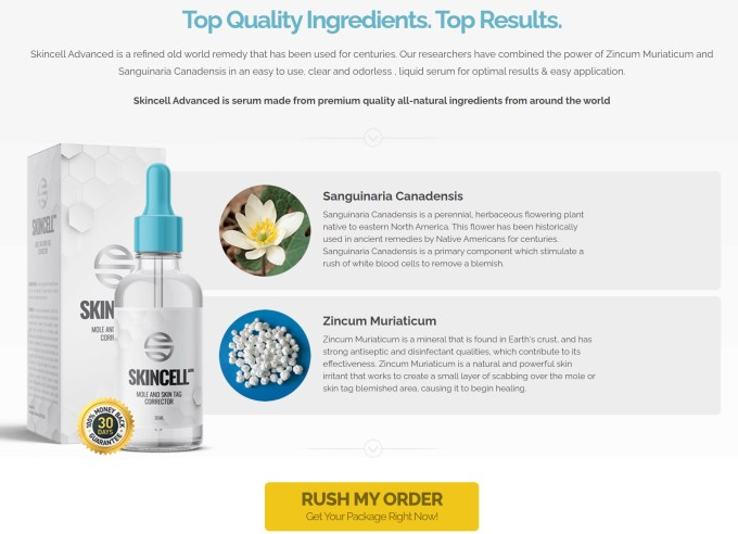 SkinCell Advanced Ingredients