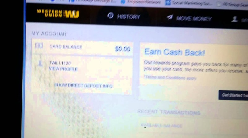 Free money from Western Union | FreeTrialMe com