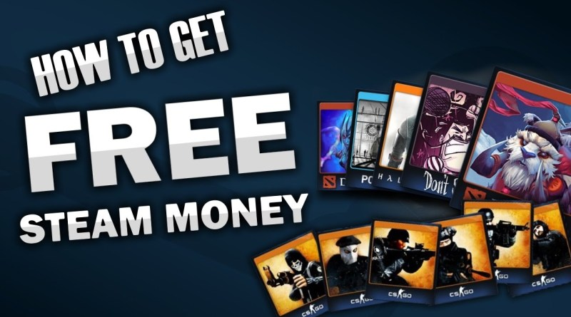 How to get FREE Money/Trading Cards on STEAM! (SAFE & NEW