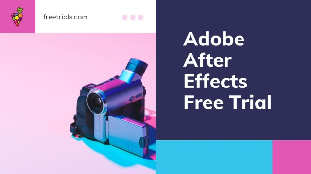 Adobe After Effects Free Trial Header