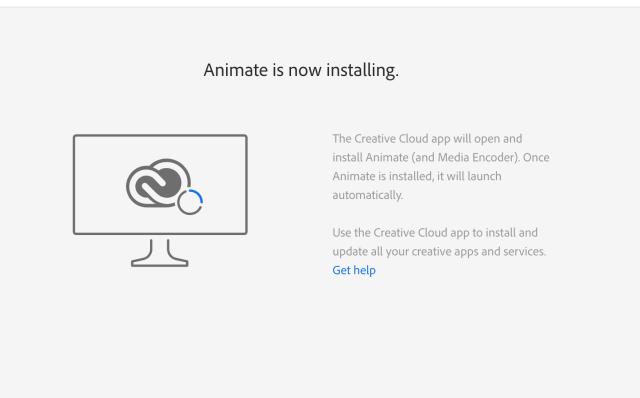 Adobe Animate Installation