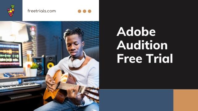 Adobe Audition Free Trial Header