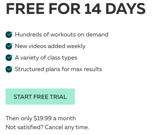 14 Day Free Trial - PVolve
