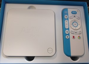 AirTV receiver and remote