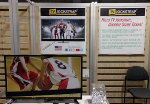 TV Jockstrap® booth at CES