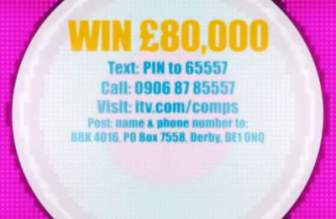 Good Morning Britain Competition £80,000 Cash Prize Draw
