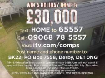 Lorraine holiday home competition 2017