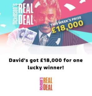 Real Deal Competition £18,000