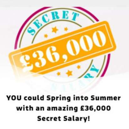 £36,000 Spring Into Summer Competition