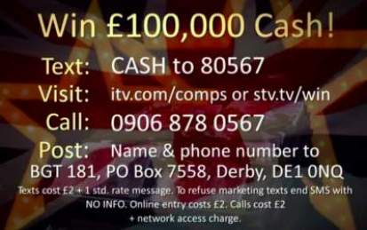 Britain's Got Talent Competition for £100,000