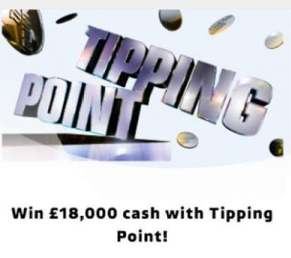 Tipping Point Competition £18,000 2018 ITV