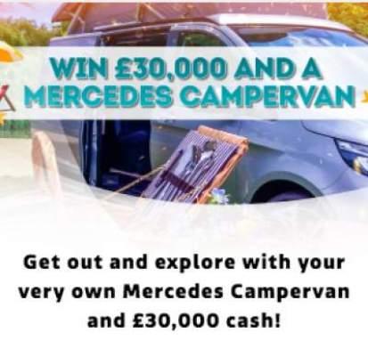 Lorraine Mercedes Campervan Competition