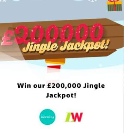 Loose Women Jingle Jackpot Prize Draw 2018 ITV