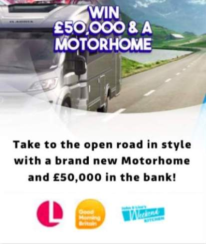 Lorraine Motorhome Competition ITV
