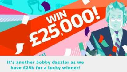 Dickinson's Real Deal Prize £25,000 ITV