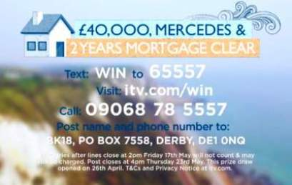 Lorraine Mortgage Competition ITV entry details