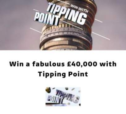 ITV Tipping Point Prize £40,000