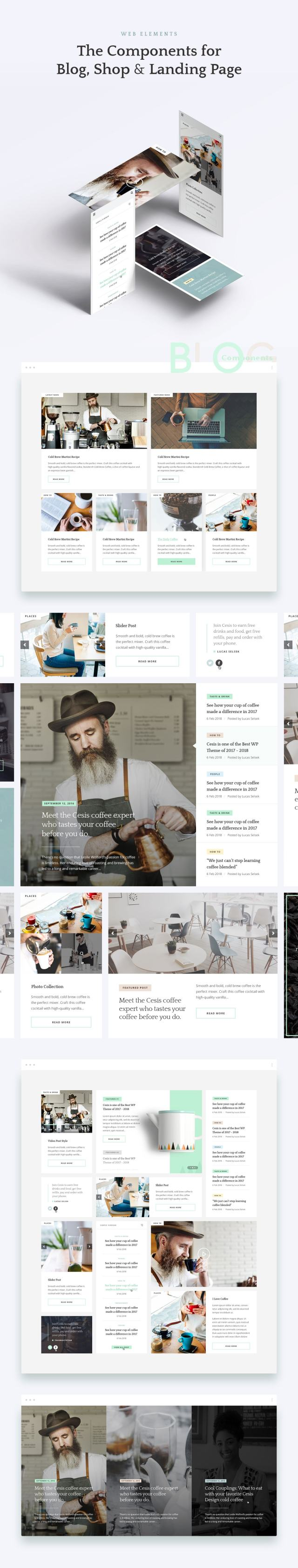 the best psd template - thefox psd - version 1.5
