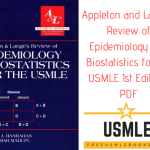 Download Appleton and Lange's Review of Epidemiology and Biostatistics for the USMLE 1st Edition PDF Free