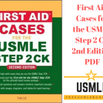 Download First Aid Cases for the USMLE Step 2 CK 2nd Edition PDF Free