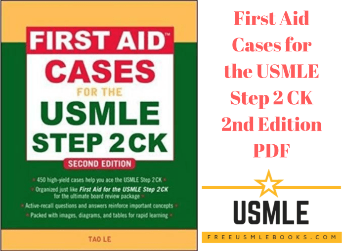 Download First Aid Cases for the USMLE Step 2 CK 2nd Edition