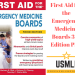 Download First Aid for the Emergency Medicine Boards 3rd Edition PDF Free