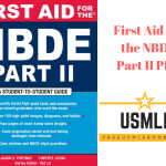 Download First Aid for the NBDE Part II PDF Free