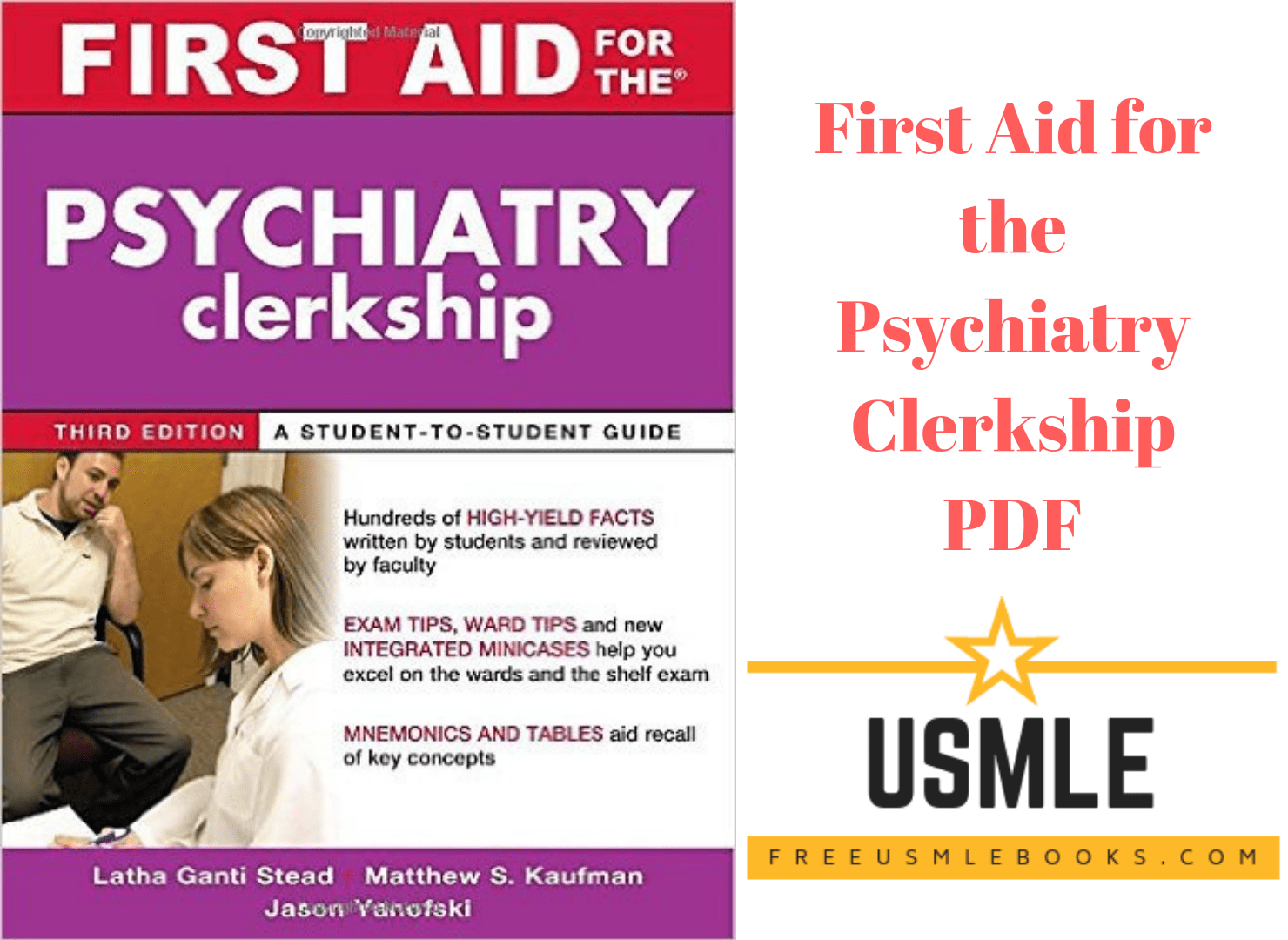 Download First Aid for the Psychiatry Clerkship PDF Free