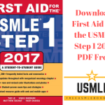 Download First Aid for the USMLE Step 1 2017 PDF Free