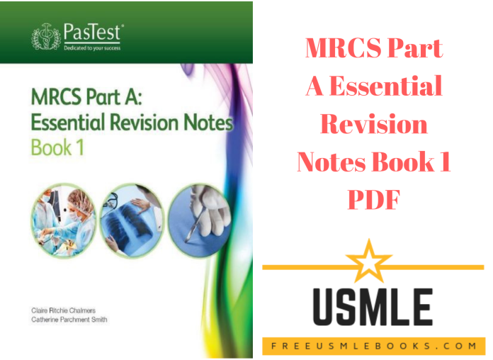 Download MRCS Part A Essential Revision Notes Book 1 PDF Free