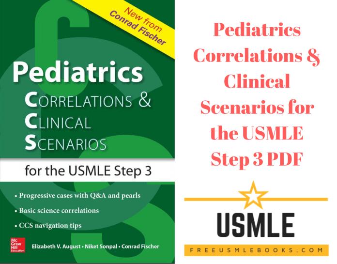 Download Pediatrics Correlations & Clinical Scenarios for the USMLE Step 3 PDF Free