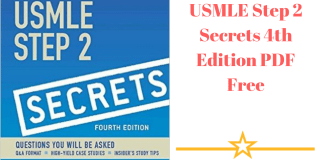 Download USMLE Step 2 Secrets 4th Edition PDF Free