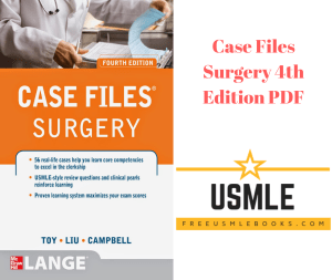 Download Case Files Surgery 4th Edition PDF Free