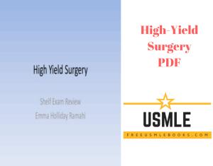 Download High-Yield Surgery PDF Free