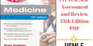 Download Medicine PreTest Self-Assessment and Review 13th Edition PDF Free
