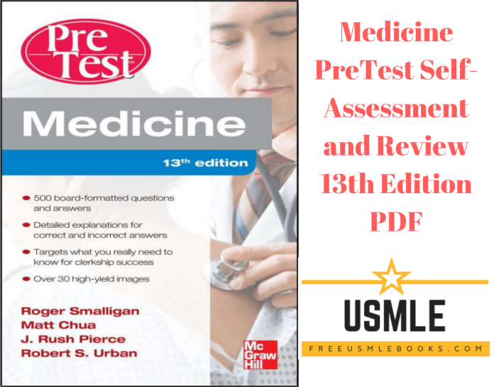 Download Medicine PreTest Self-Assessment and Review 13th